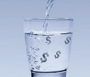 Vízdíjak a földön