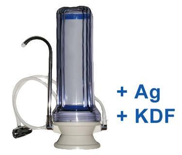 Silver asztali víztisztító GAC (+Ezüst+KDF)